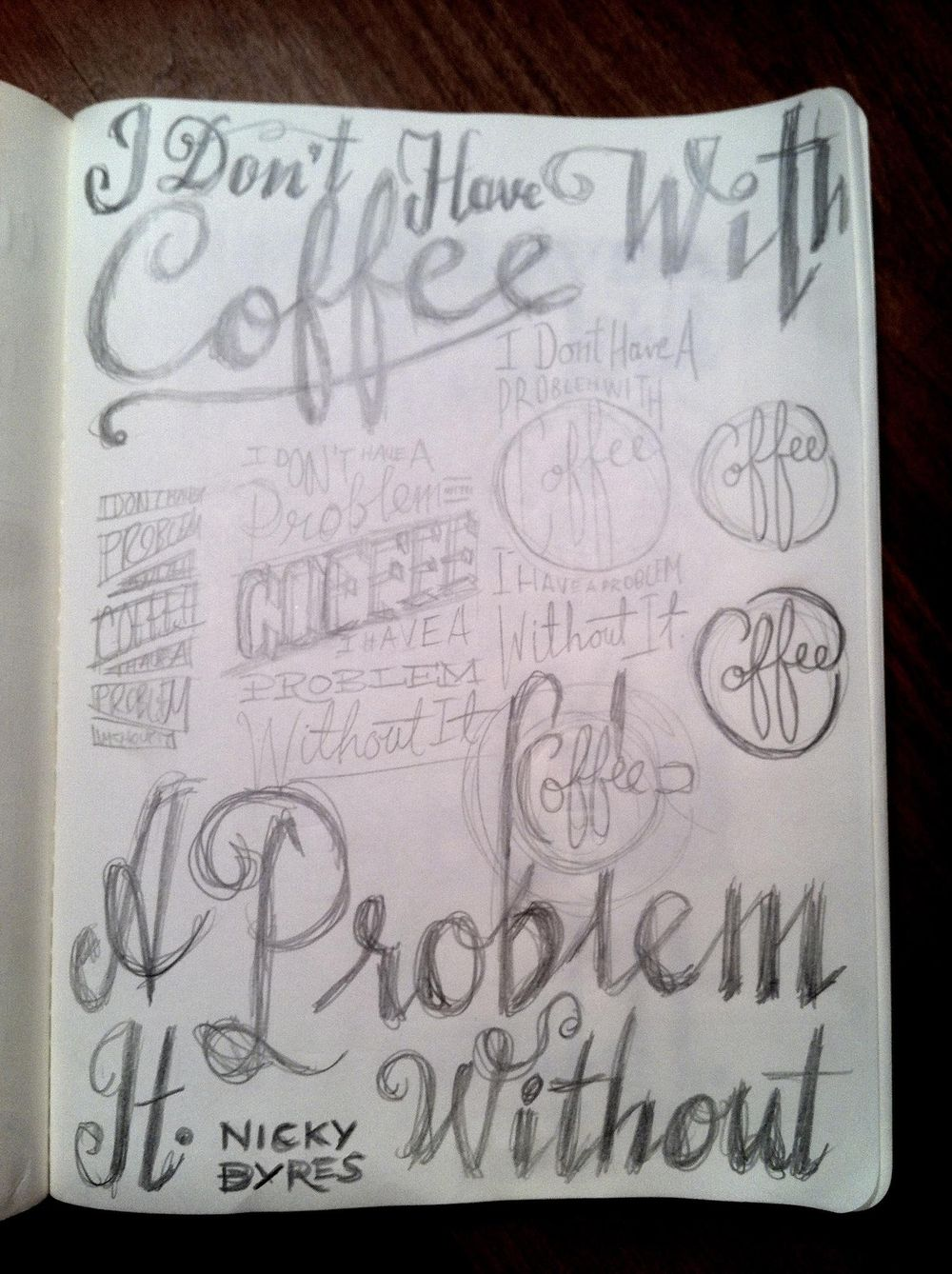 I Don't Have A Problem With Coffee, I Have One Without It - image 8 - student project