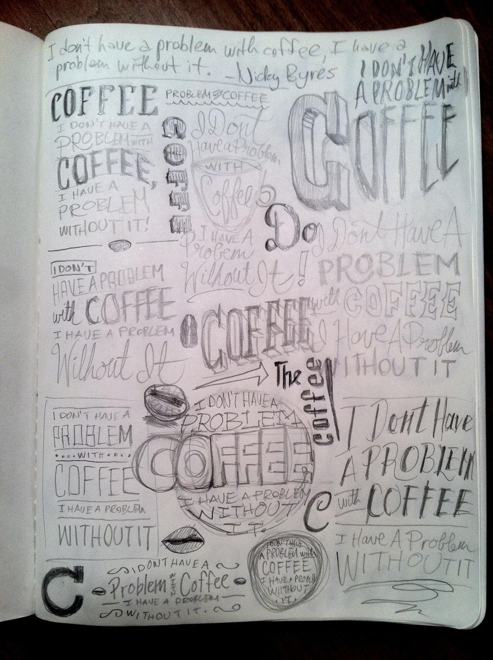 I Don't Have A Problem With Coffee, I Have One Without It - image 7 - student project