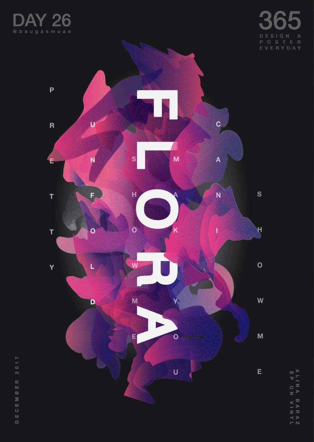 FLORA Album Poster - image 1 - student project