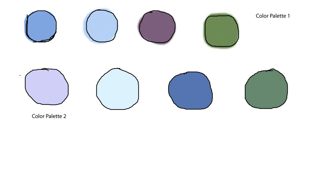Creating color palette and using it in your own artwork - image 3 - student project