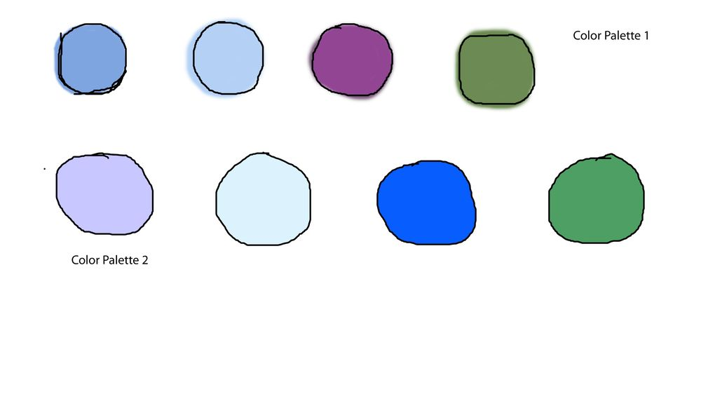 Creating color palette and using it in your own artwork - image 4 - student project