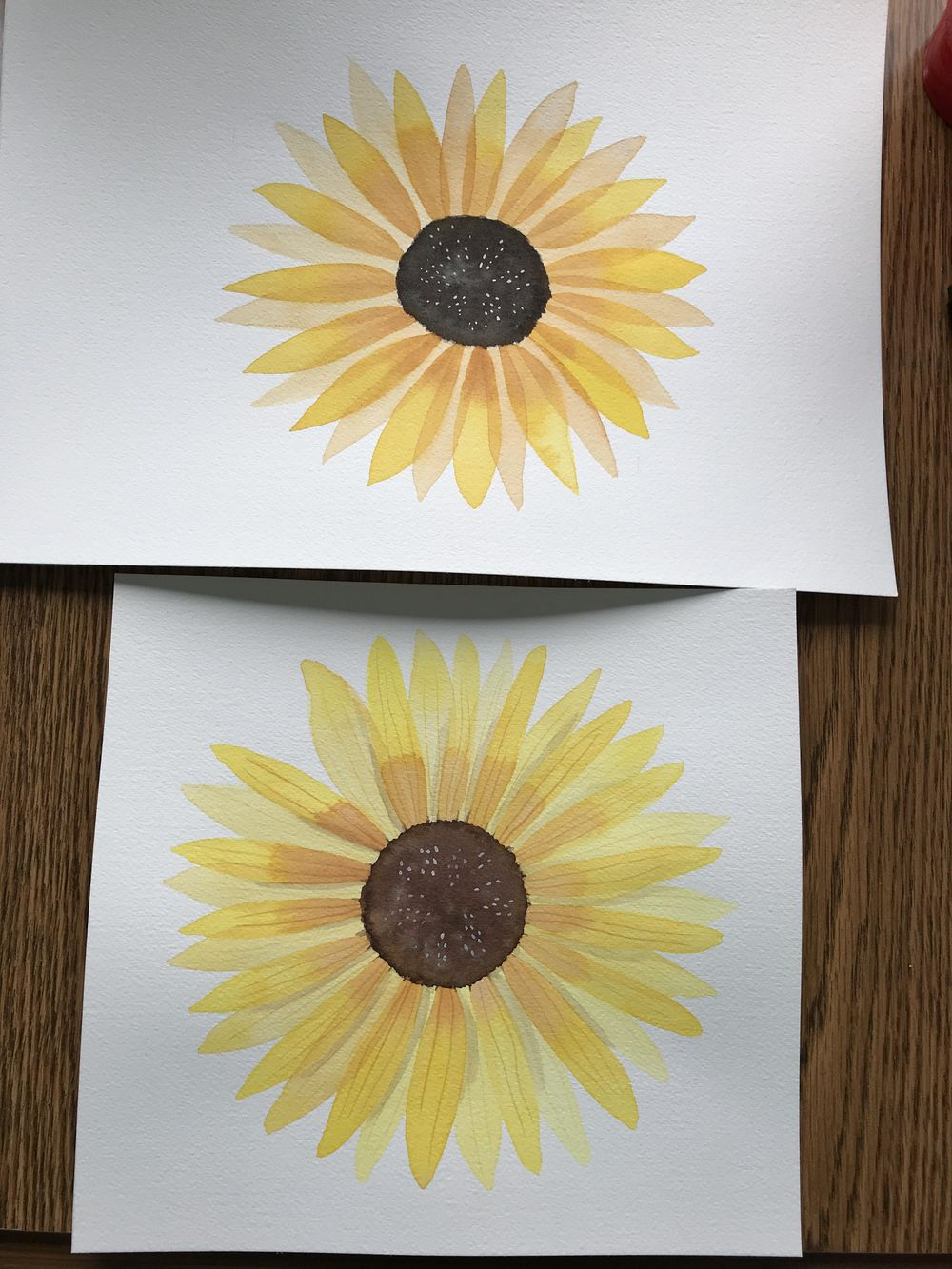 Modern Botanical Watercolor Paintings - image 3 - student project