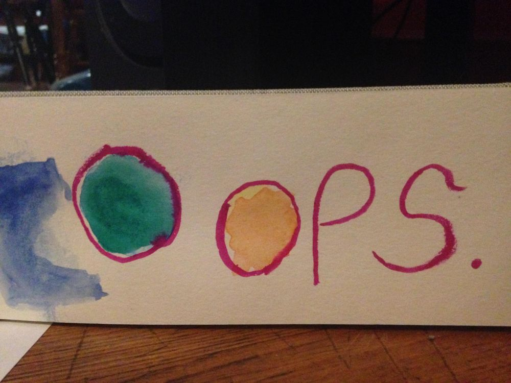 Oops! - image 1 - student project
