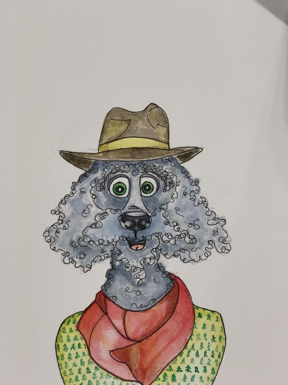 Adventurous Adopted Dog - image 1 - student project