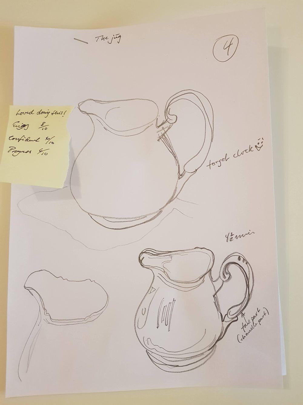 Daglig 6 min 14 dager tegnetrening - image 9 - student project