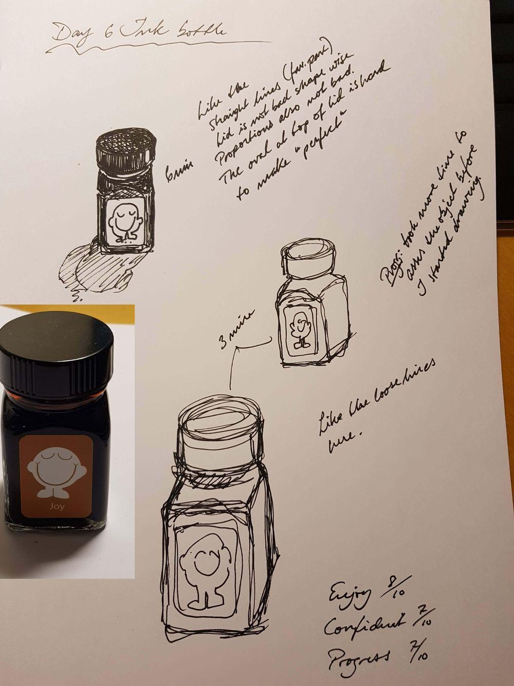 Daglig 6 min 14 dager tegnetrening - image 16 - student project