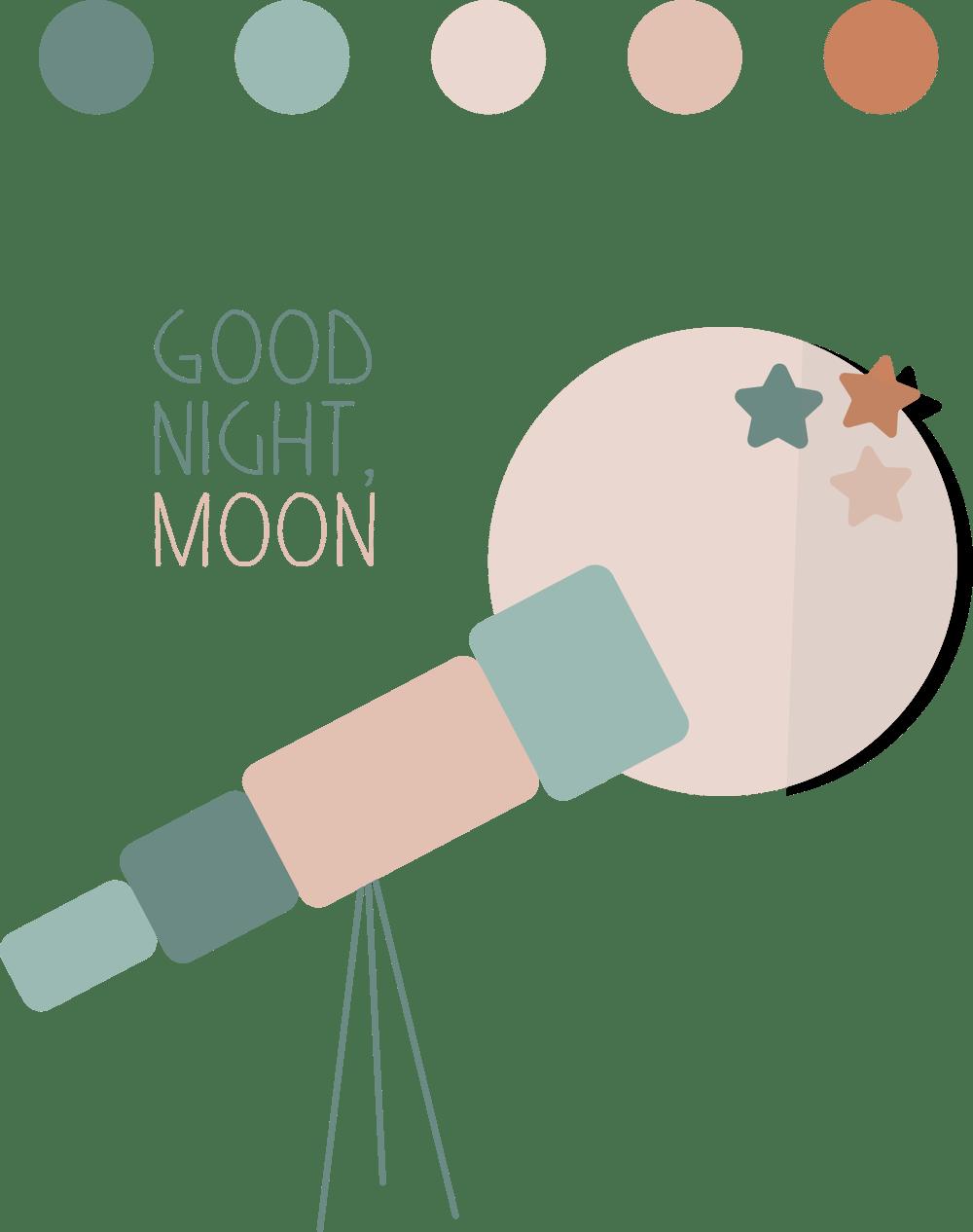 Good night, moon - image 1 - student project