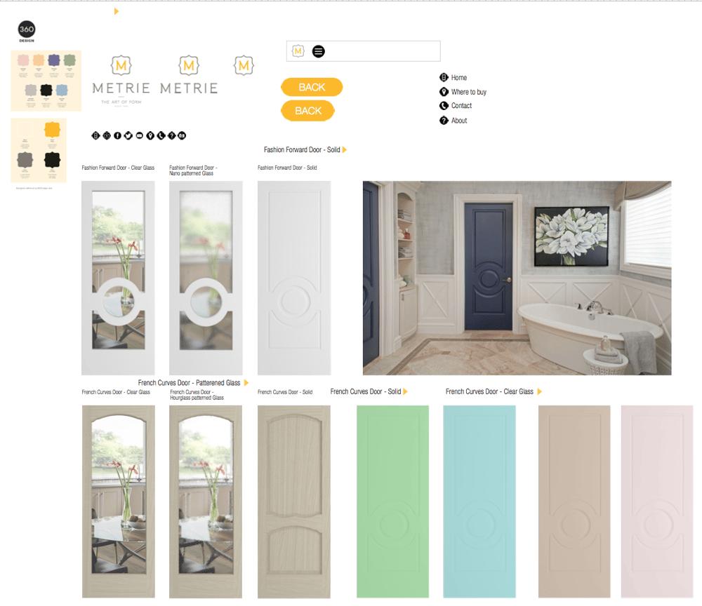 Metrie Door App - image 4 - student project