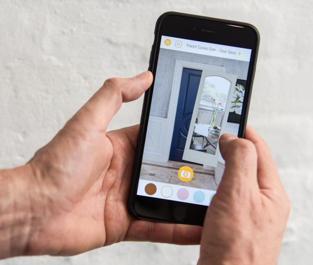 Metrie Door App - image 9 - student project