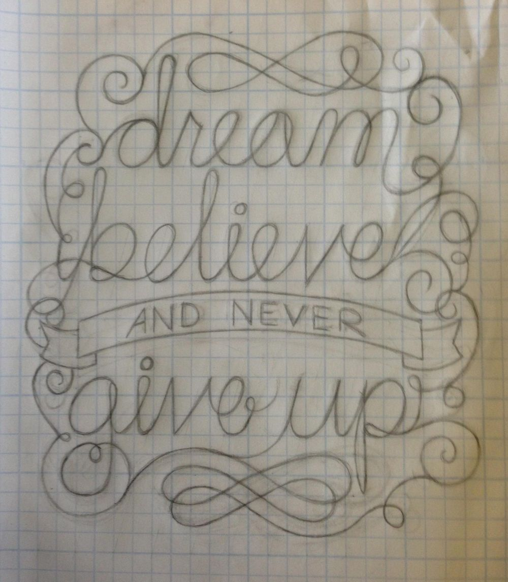 Dream, believe, and never give up - image 9 - student project