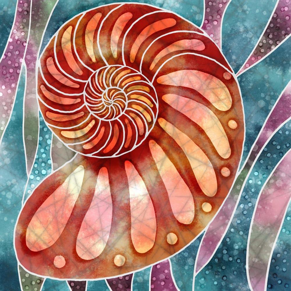 Batik Nautilus - image 1 - student project