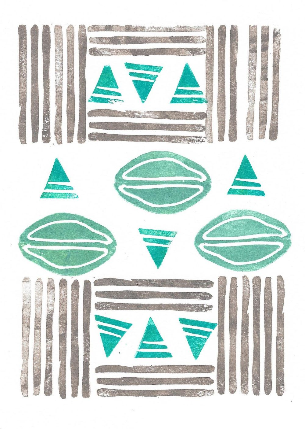 Abstract and geometric print - image 4 - student project