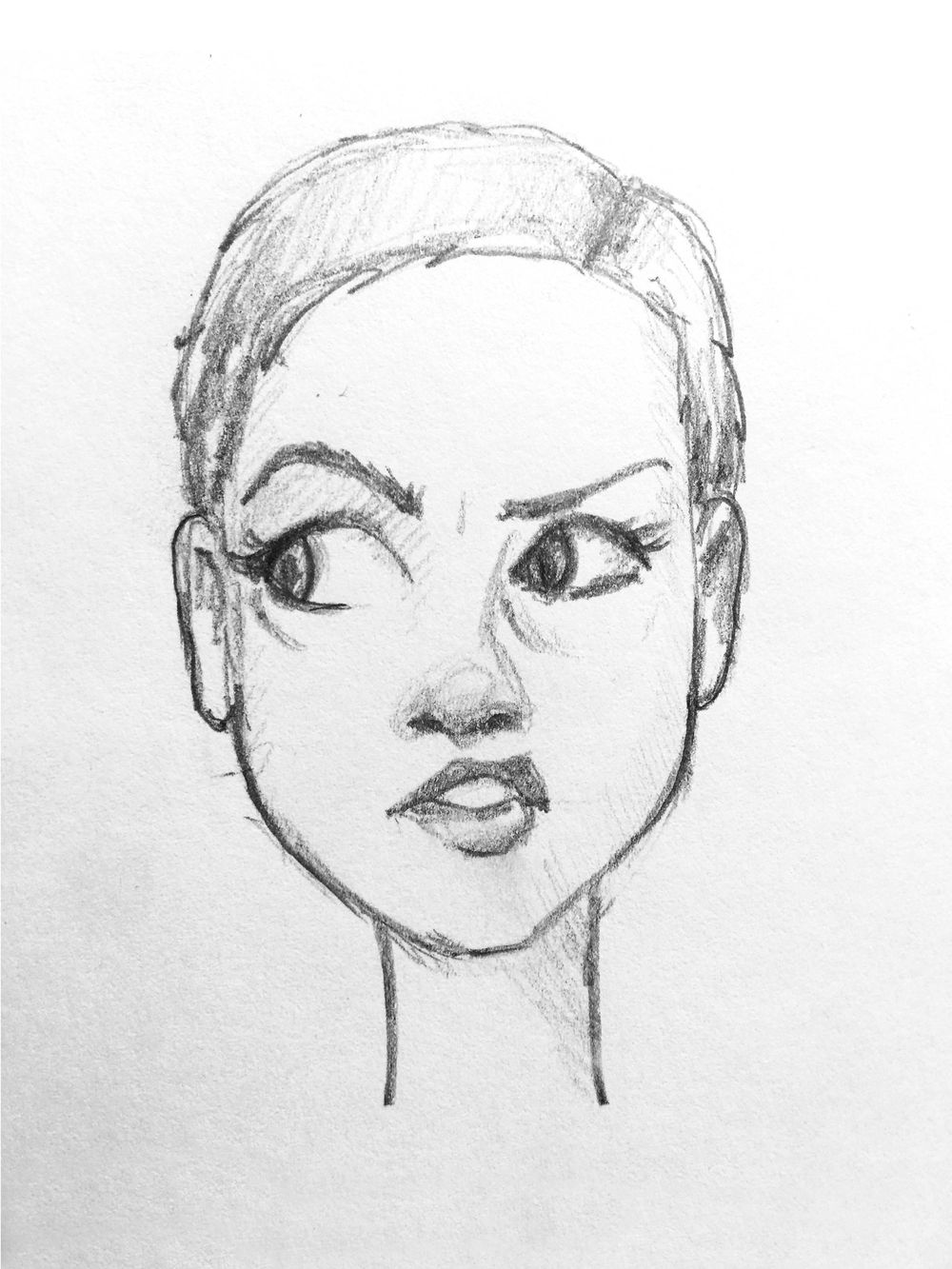 Practicing Facial Expressions - image 4 - student project