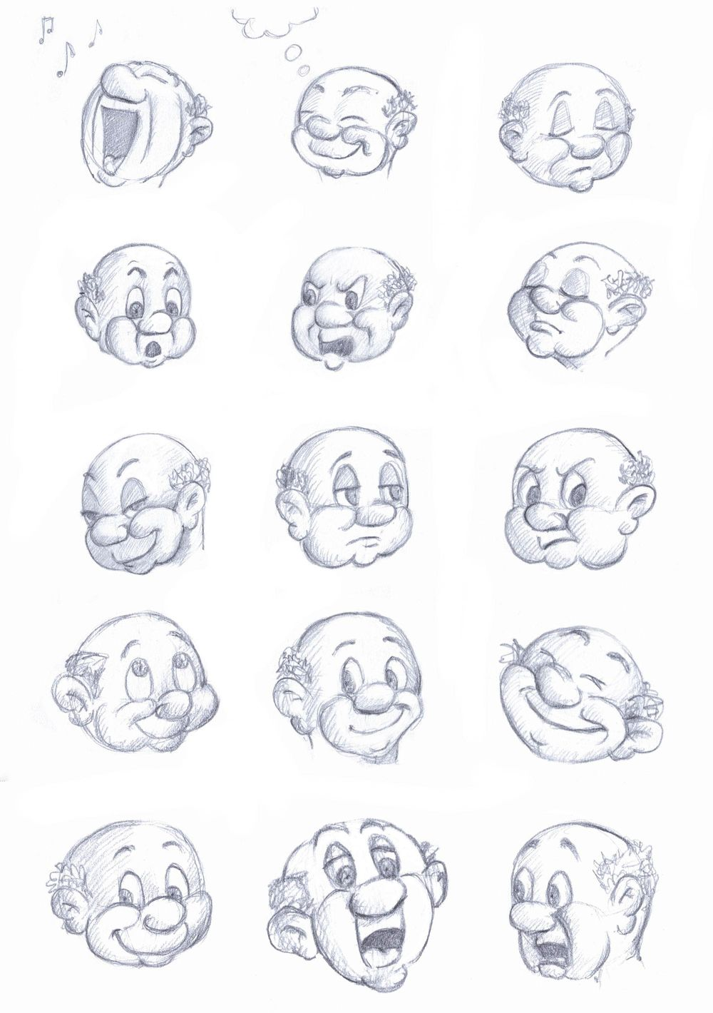 Practicing Facial Expressions - image 1 - student project