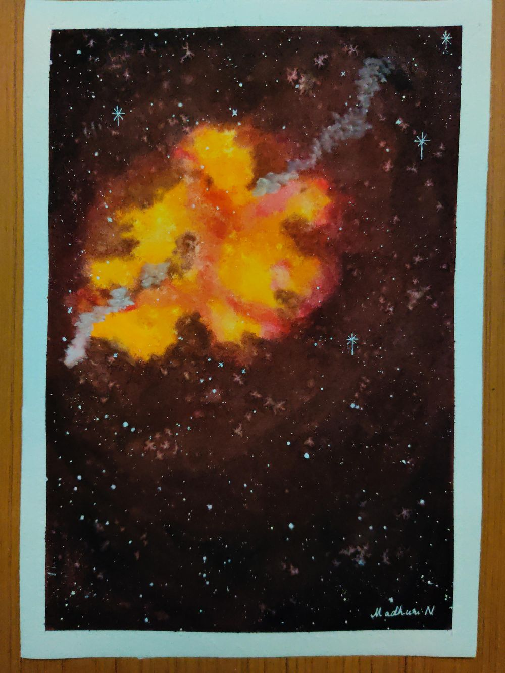 Galaxy paintings - image 2 - student project