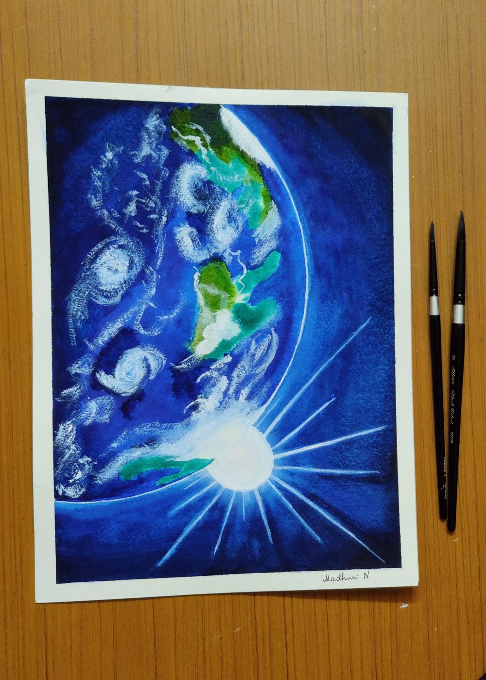 Galaxy paintings - image 1 - student project