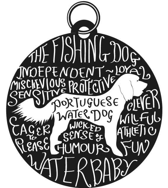 Dog Tag Art Print - image 7 - student project