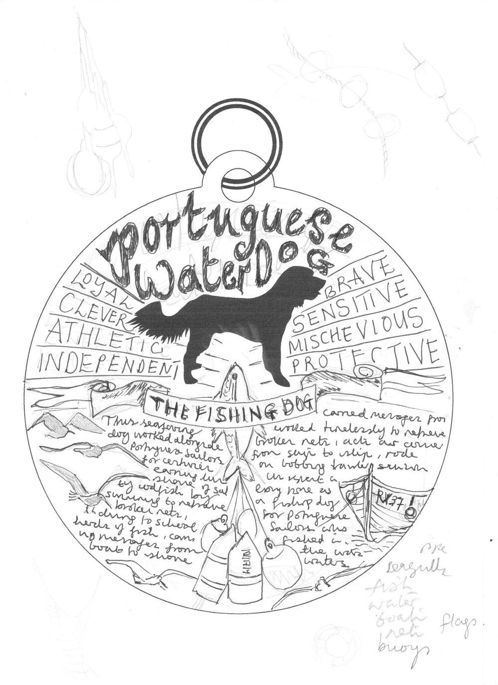 Dog Tag Art Print - image 11 - student project