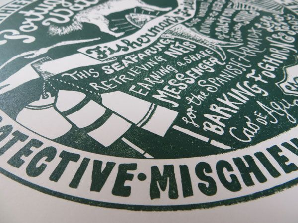Dog Tag Art Print - image 18 - student project