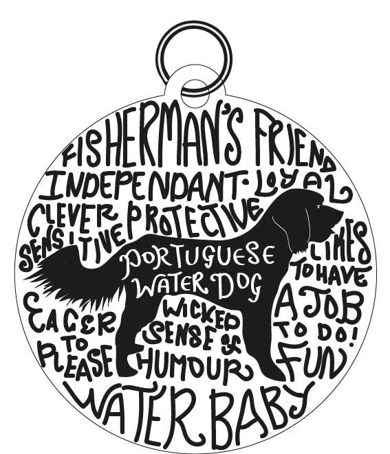 Dog Tag Art Print - image 6 - student project