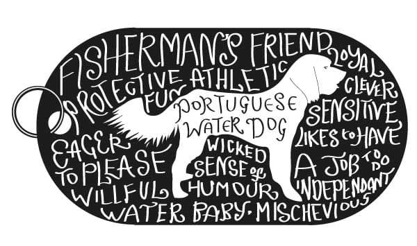 Dog Tag Art Print - image 5 - student project