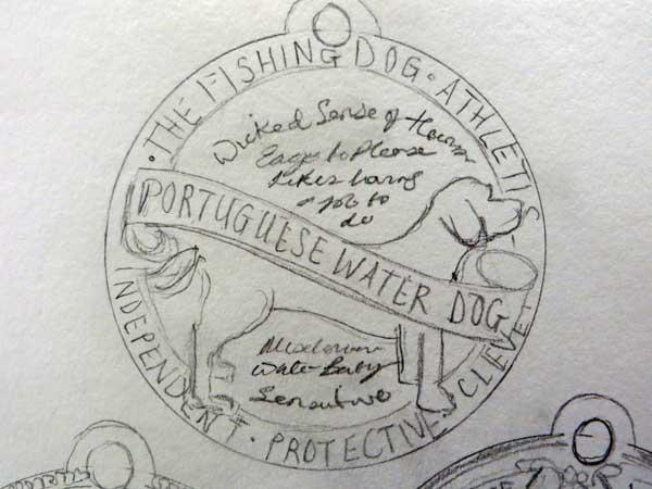 Dog Tag Art Print - image 8 - student project