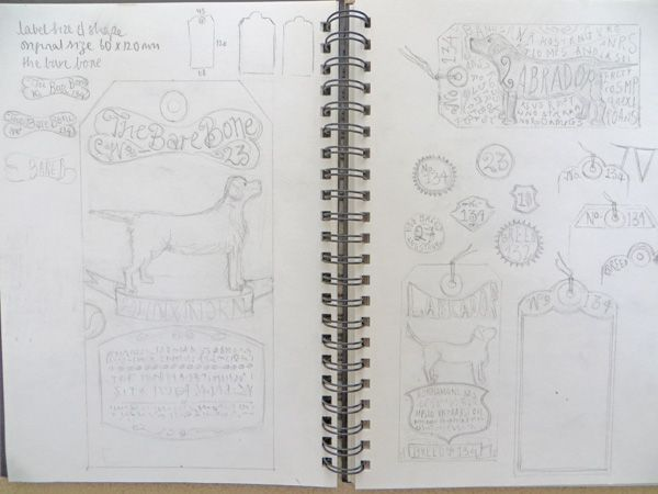 Dog Tag Art Print - image 3 - student project