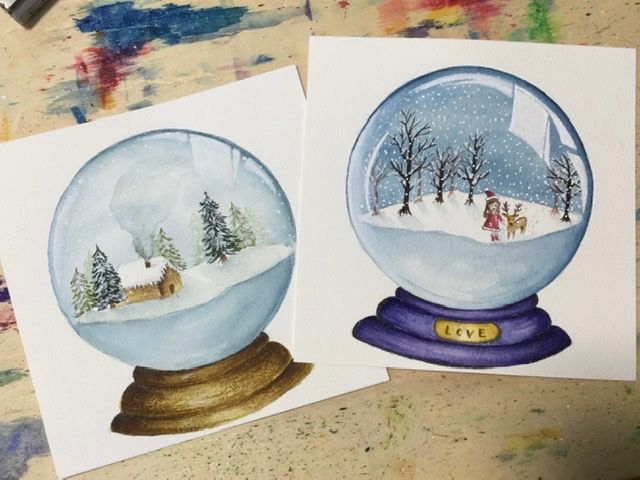 Snow globes - image 1 - student project