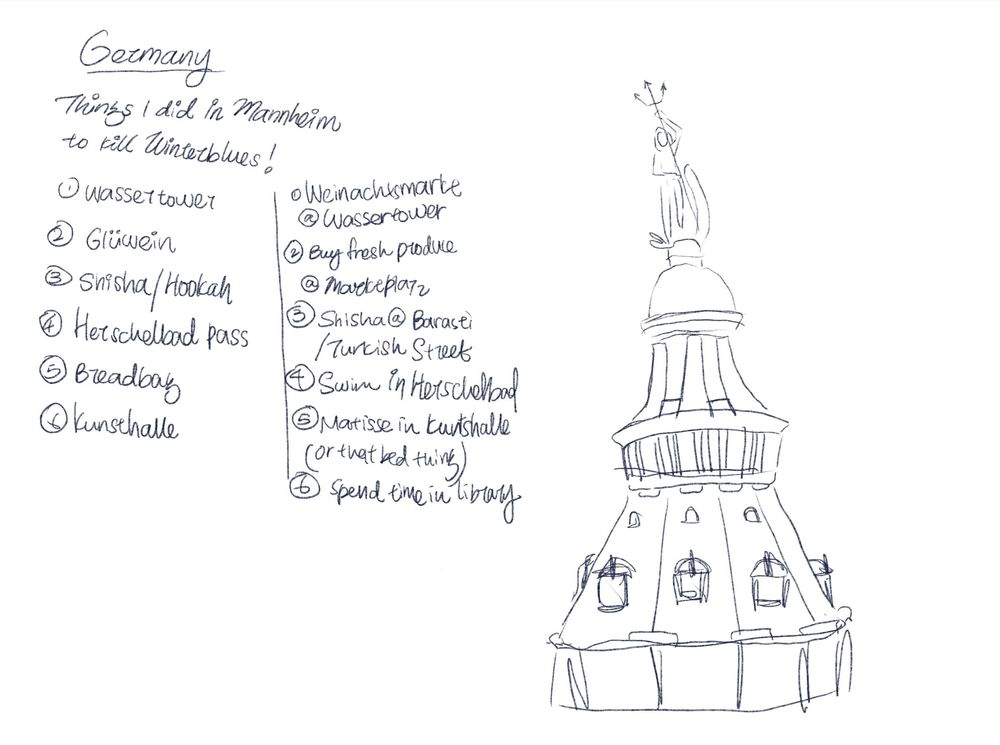 WIP// Germany: Things I did in Mannheim to kill winter blues - image 2 - student project