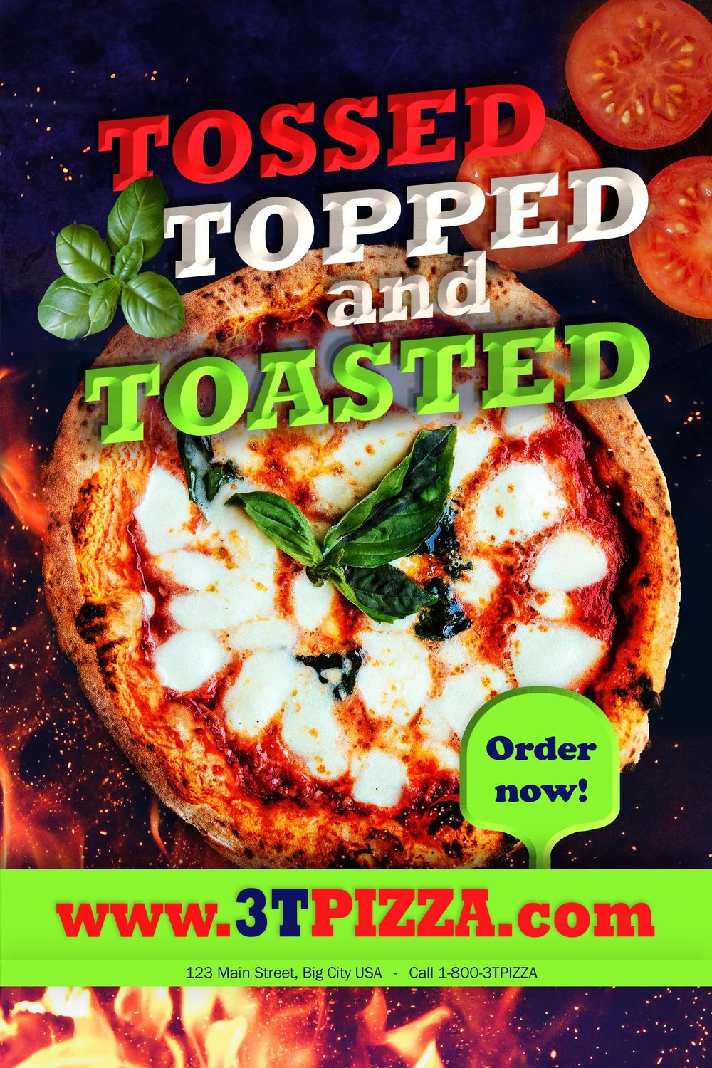 3T PIZZA - image 1 - student project
