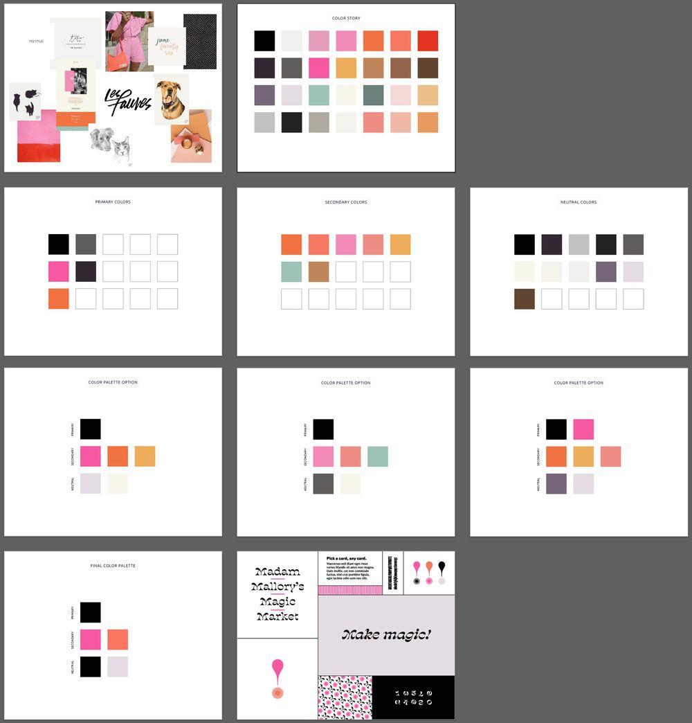 My Unique Color Palette Project - image 1 - student project