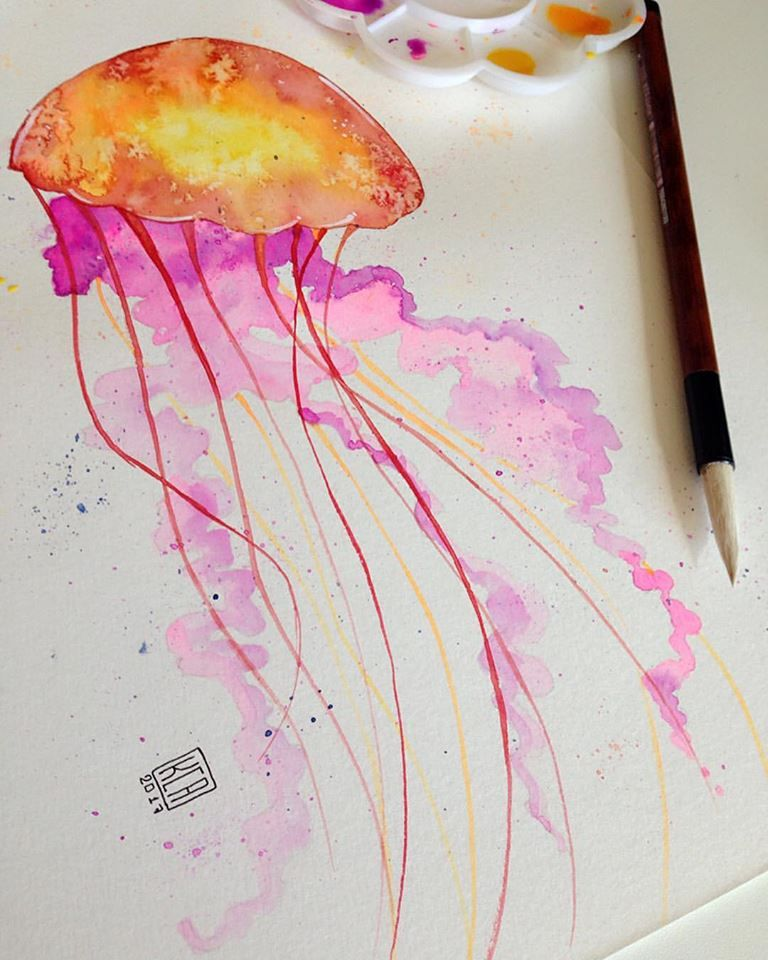 Jellyfish!!!  - image 1 - student project