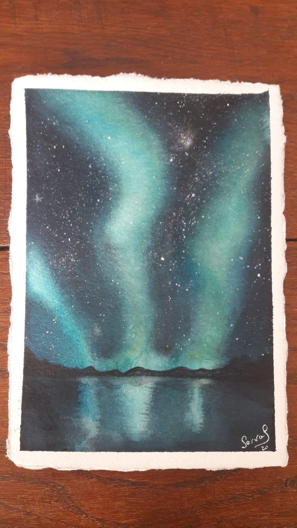 Aurora Borealis - image 1 - student project