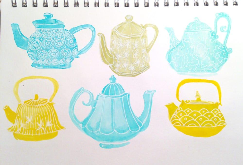 Little teapots - image 1 - student project