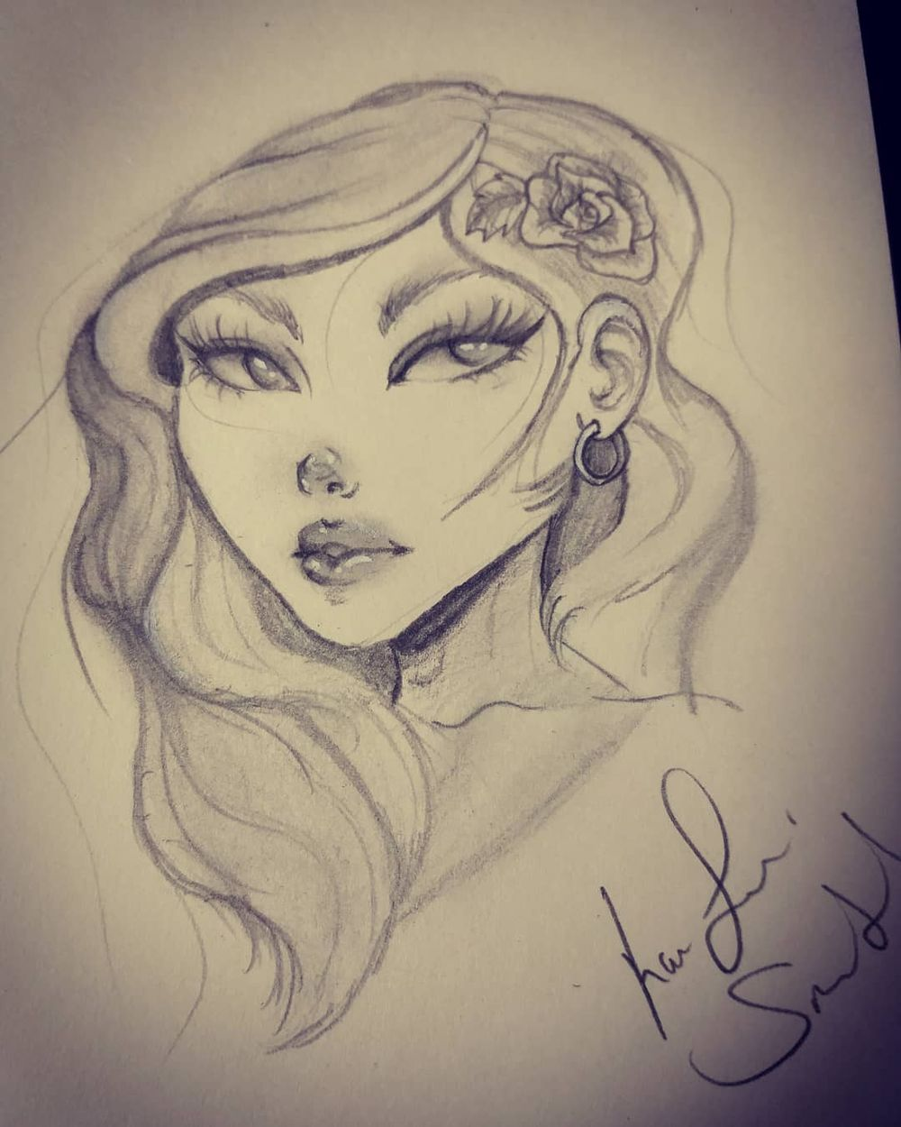 Female face :) - image 2 - student project