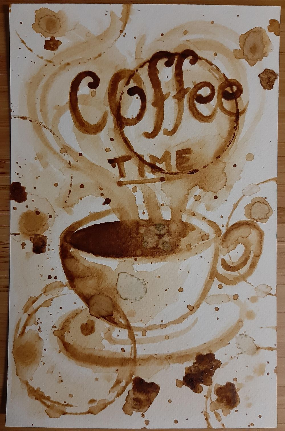 Instant Coffee Time - image 1 - student project