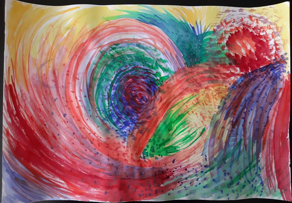 Intuitive painting - image 2 - student project