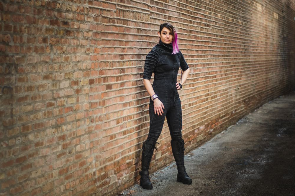 Cyberpunk Fashion Lookbook - image 4 - student project