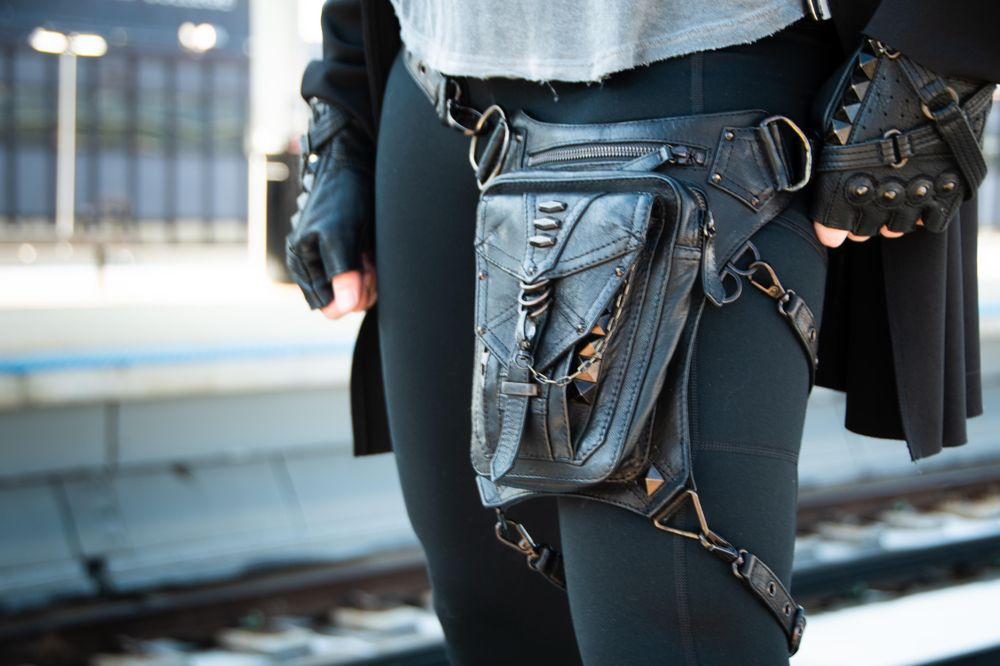 Cyberpunk Fashion Lookbook - image 3 - student project