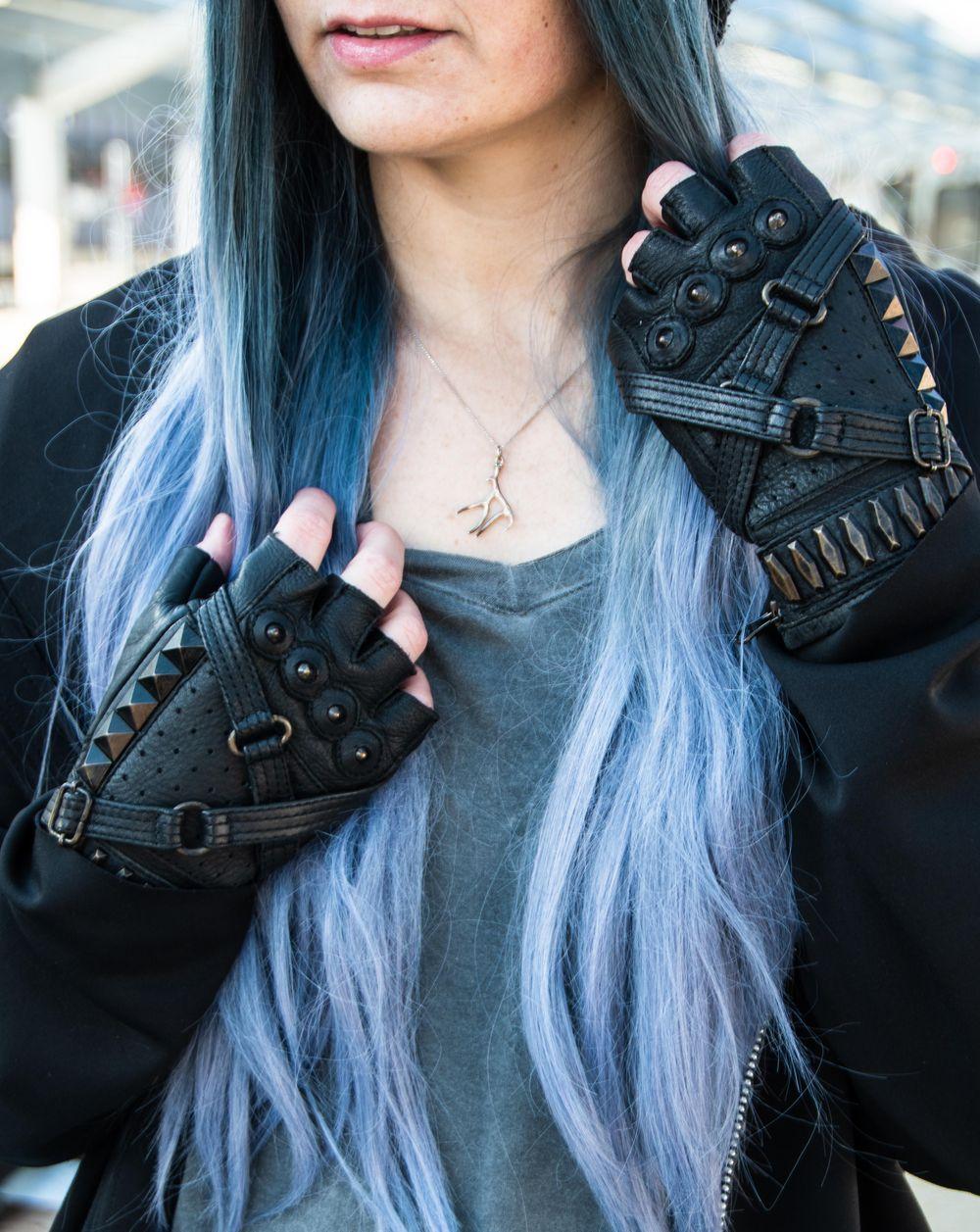 Cyberpunk Fashion Lookbook - image 2 - student project