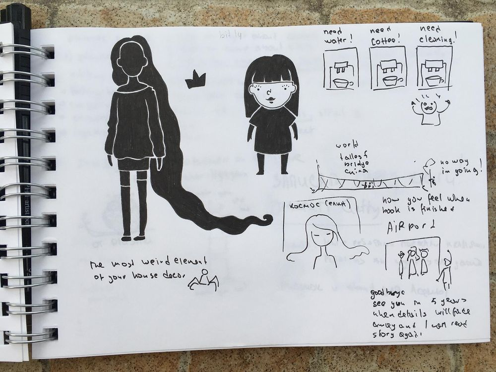 Love, love, love thumbnail sketching! - image 2 - student project