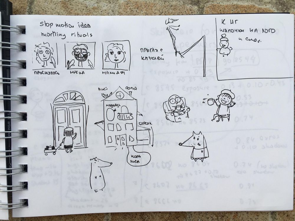Love, love, love thumbnail sketching! - image 1 - student project