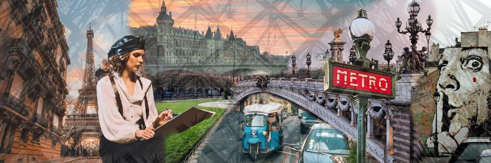 Photo Collage Paris - image 1 - student project