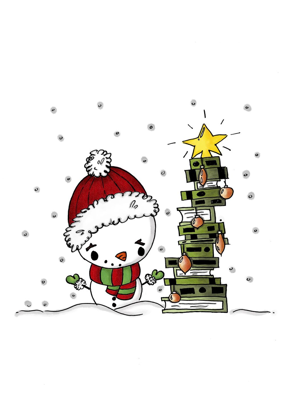 Merry Bookmas! - image 2 - student project