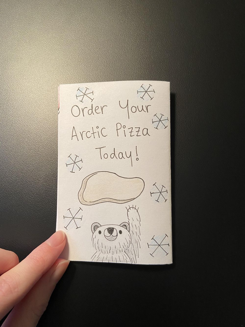 My First Zine: Polar Bears Like Pizza - image 5 - student project