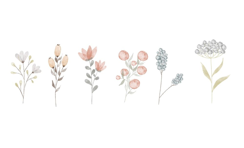 acuarela floral - image 3 - student project