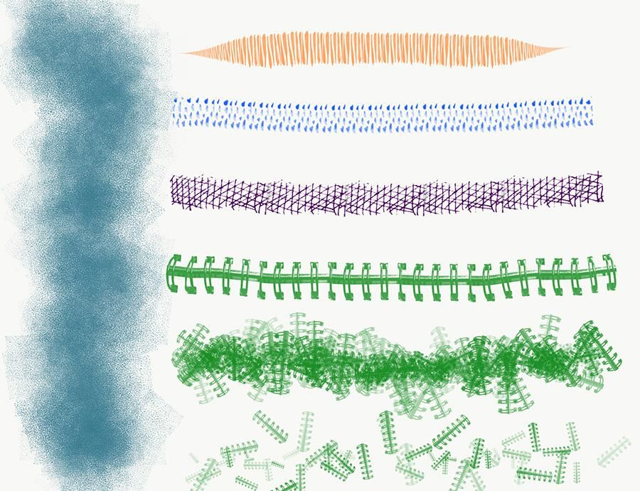 Digital brushes - image 1 - student project