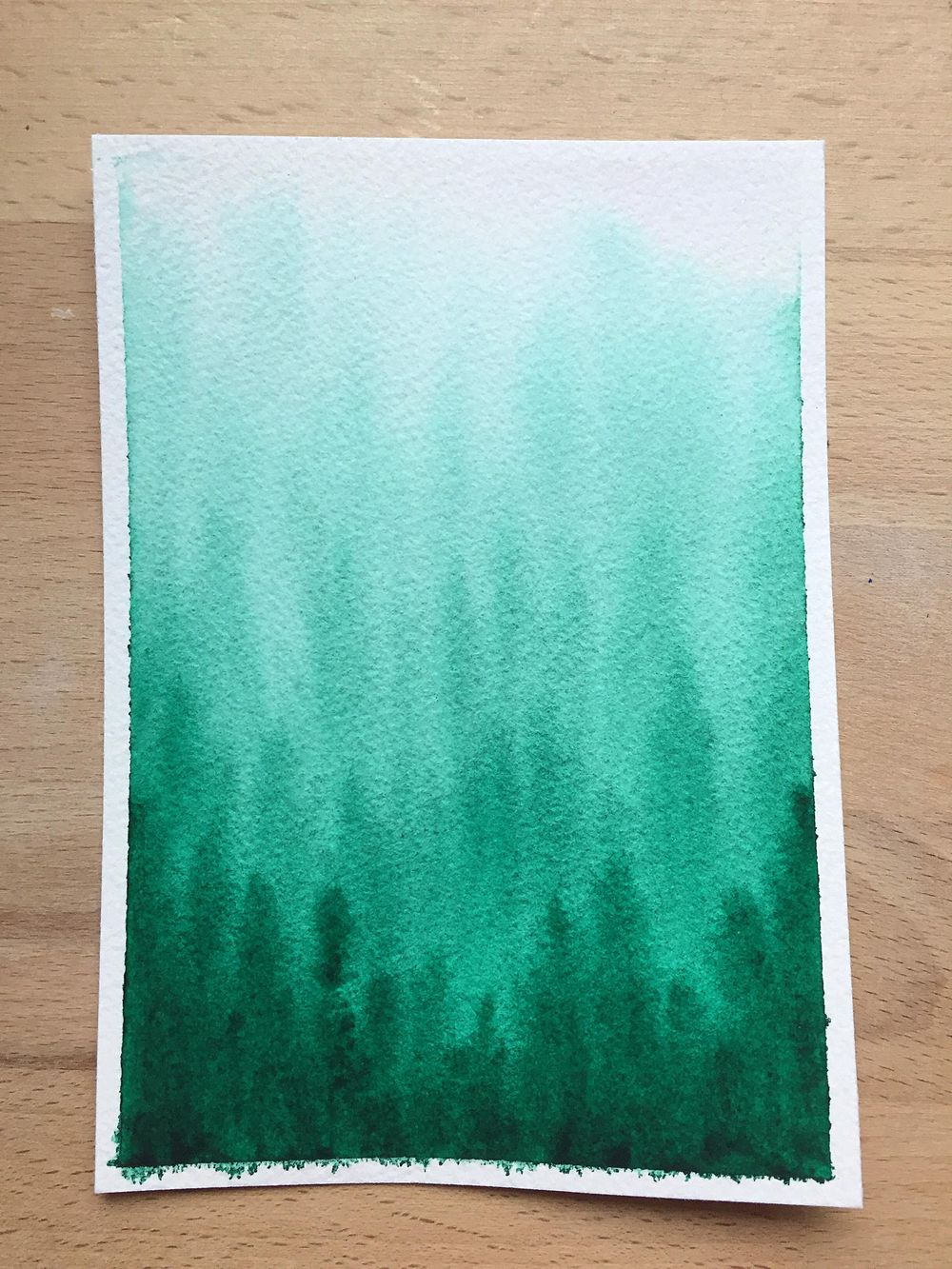 Monochrome watercolor - image 4 - student project