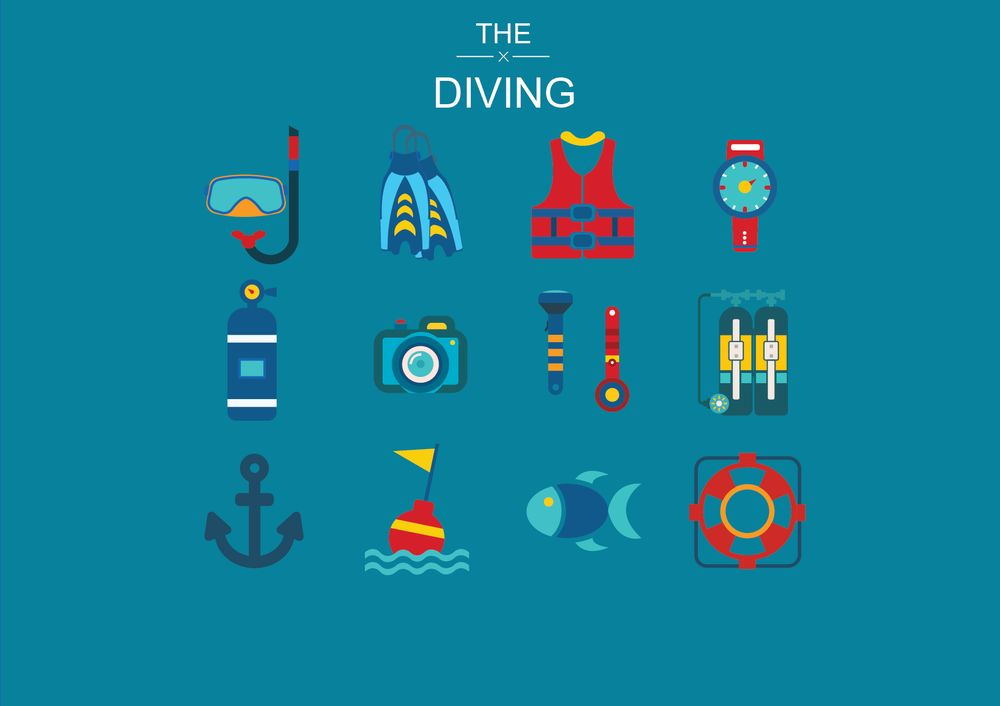 Space ,  Diving and Christmas  Icons  - image 6 - student project