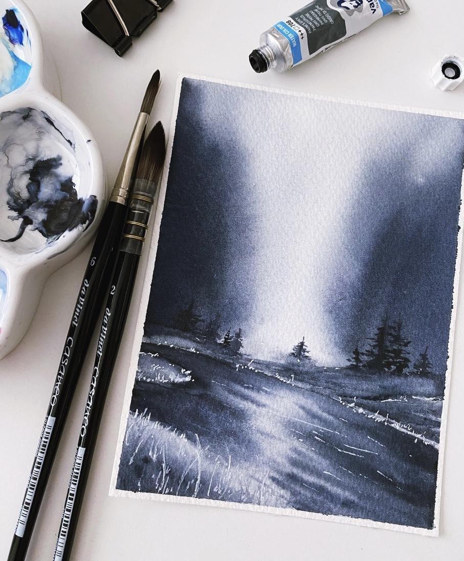 Monochrome Landscape - image 1 - student project